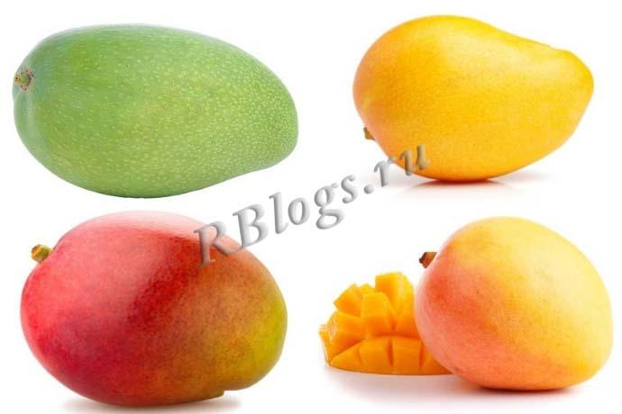 Как выглядит манго разных сортов – фото