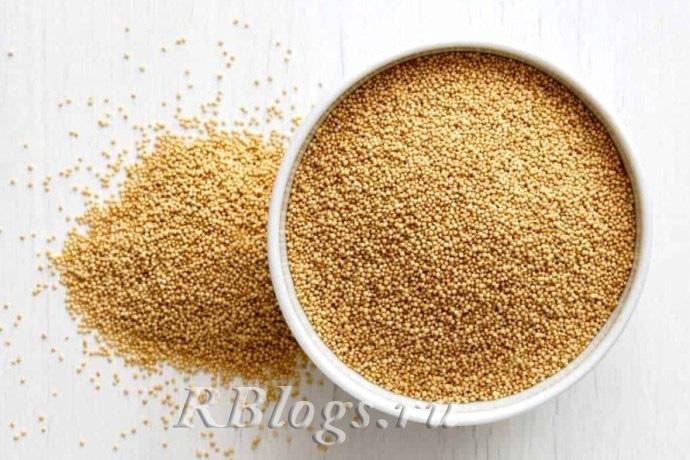 На фото семена амаранта